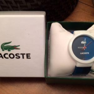Lacoste watch NWT unisex
